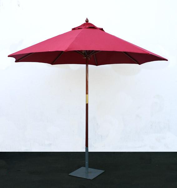 Patio Umbrella Rental: UMBRELLA 9' RED Rentals