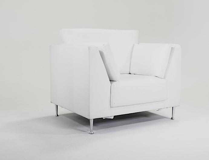 Signature Party Rentals White Faux Leather 5 Sofa Amp 3