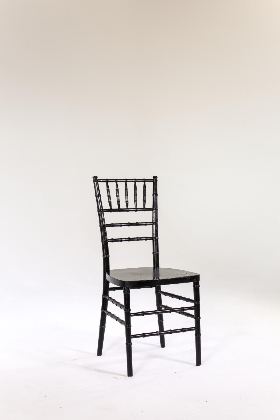 Signature Party Rentals Chair Black Chiavari Rentals