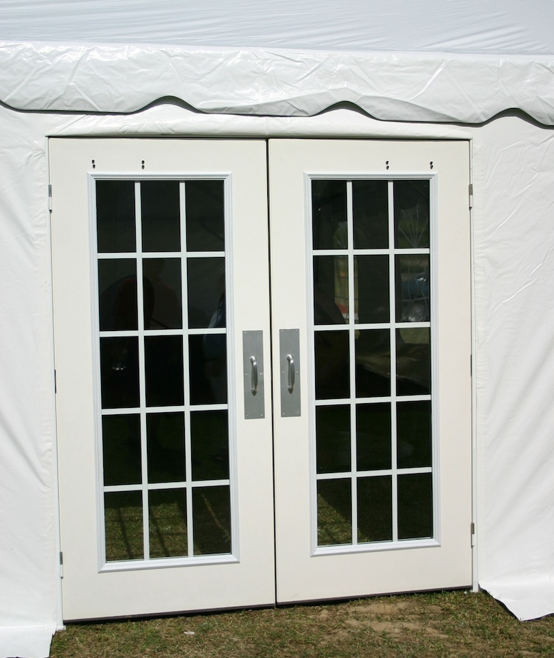 Signature party rentals french doors rentals for Large french doors