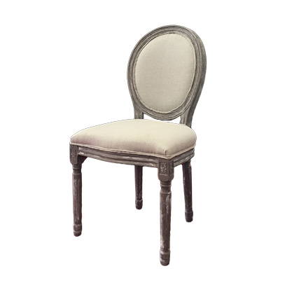 MEDALLION PARLOR CHAIRS 2 Colors