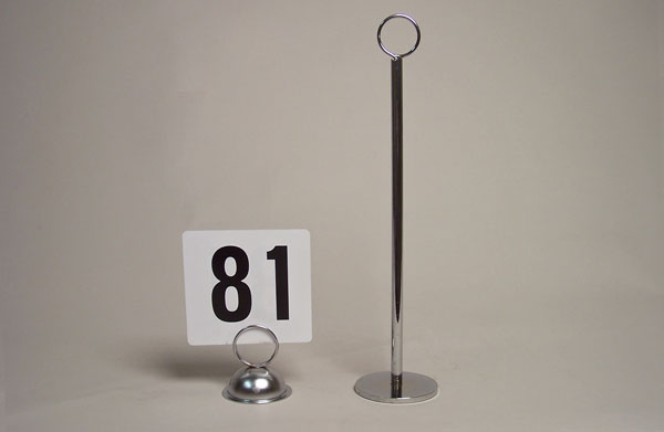 Small Table Number Holders 11
